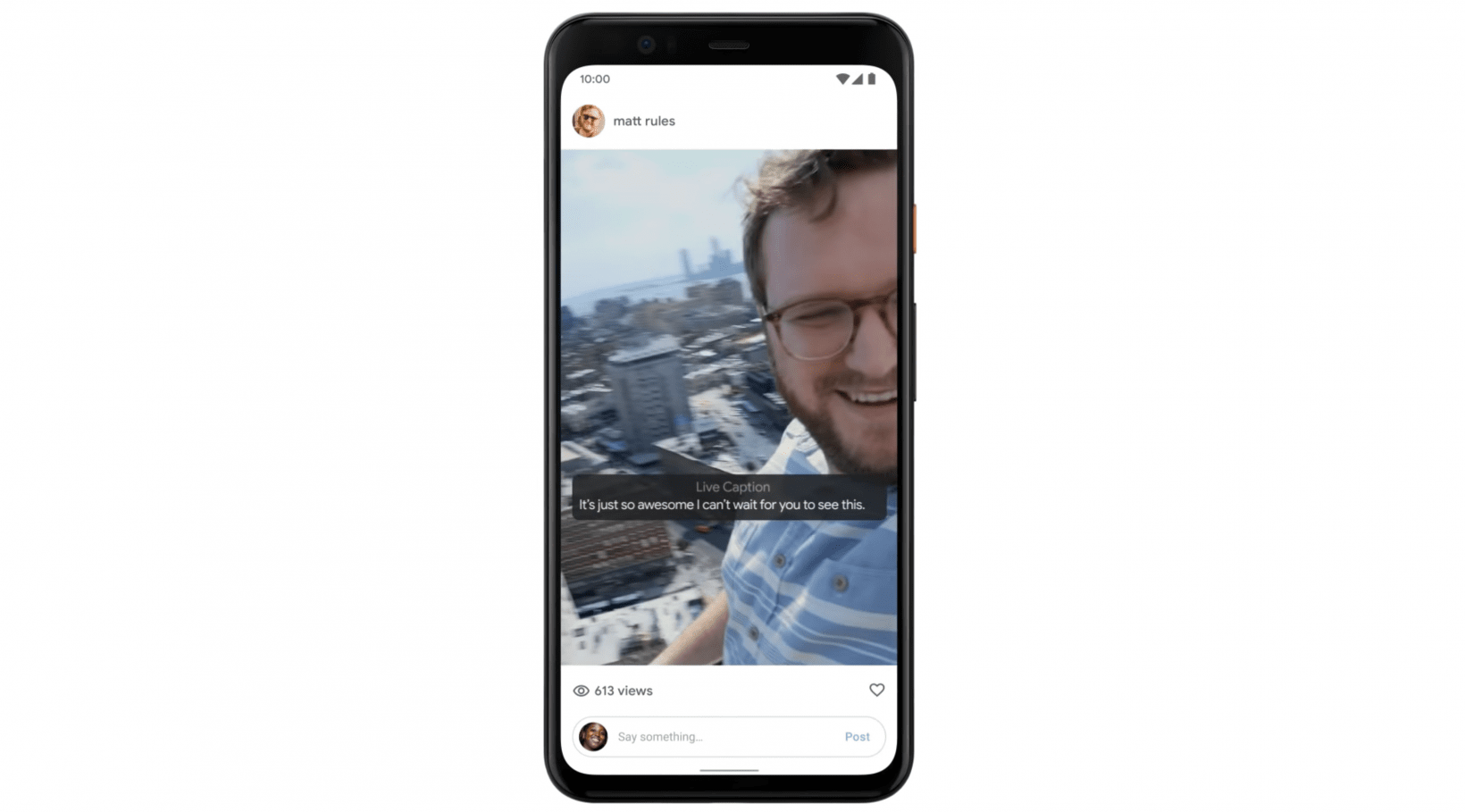 Android's new real-time captioning launches on the Pixel 4, other Pixels later this year