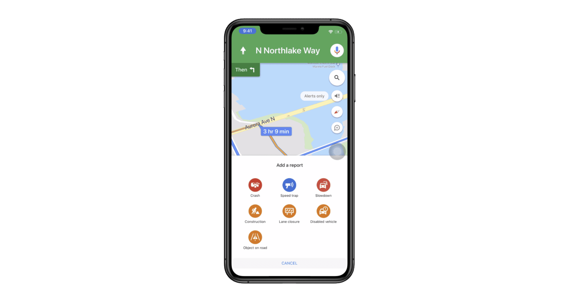 Google Maps just made it easier to report traffic incidents