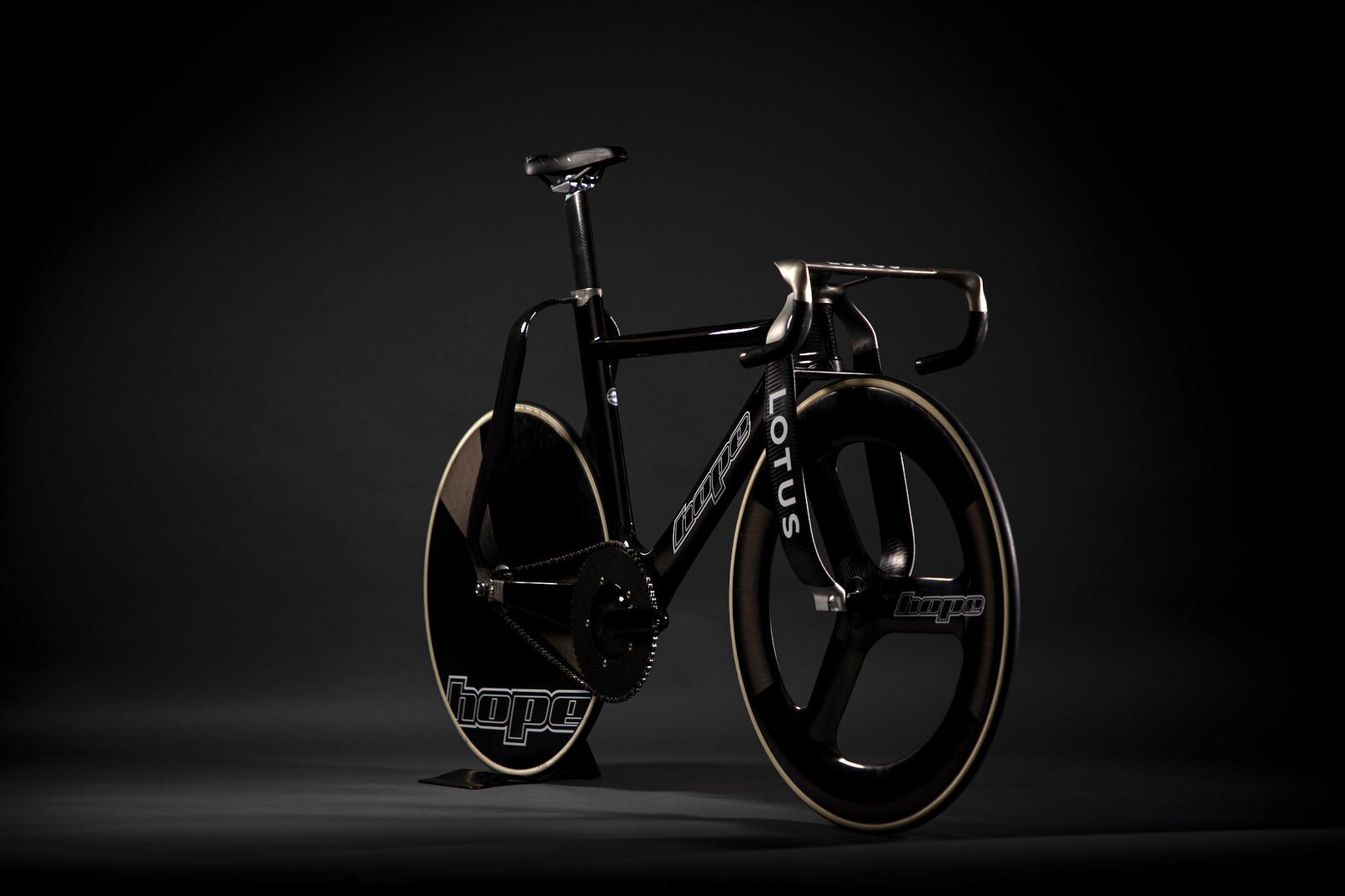 Lotus, Hope, bike, track cycling