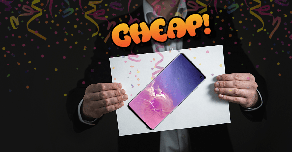 CHEAP: Yes please, I will take $200 off the 512GB Samsung Galaxy S10