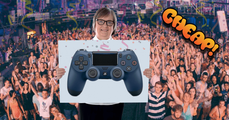 CHEAP: $35 for a Sony PlayStation DualShock 4 controller? TAKE MY THUMBS