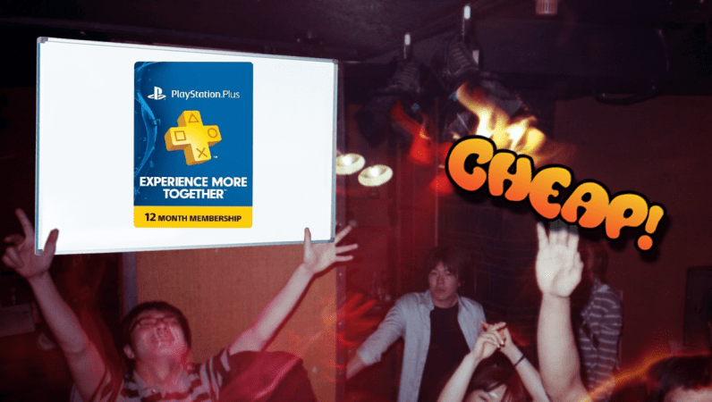 CHEAP: Wreck your friends all year long with $20 off PlayStation Plus subscription