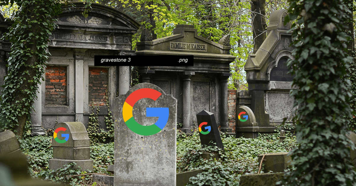 RIP: How to stop Google from stealing all your data after you die