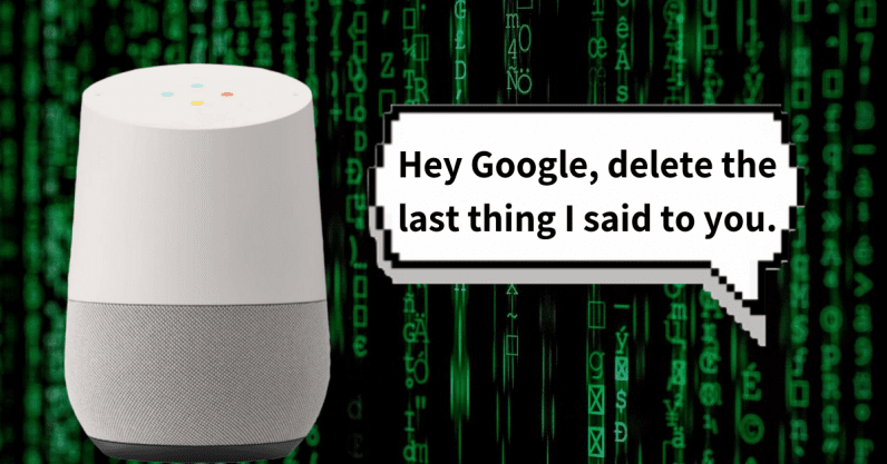 You'll soon be able to tell your Google Assistant to forget search history