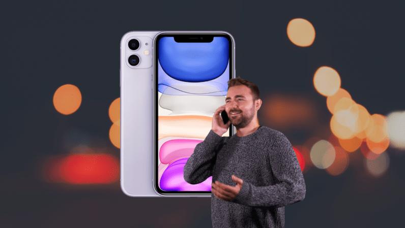 iphone 11 call