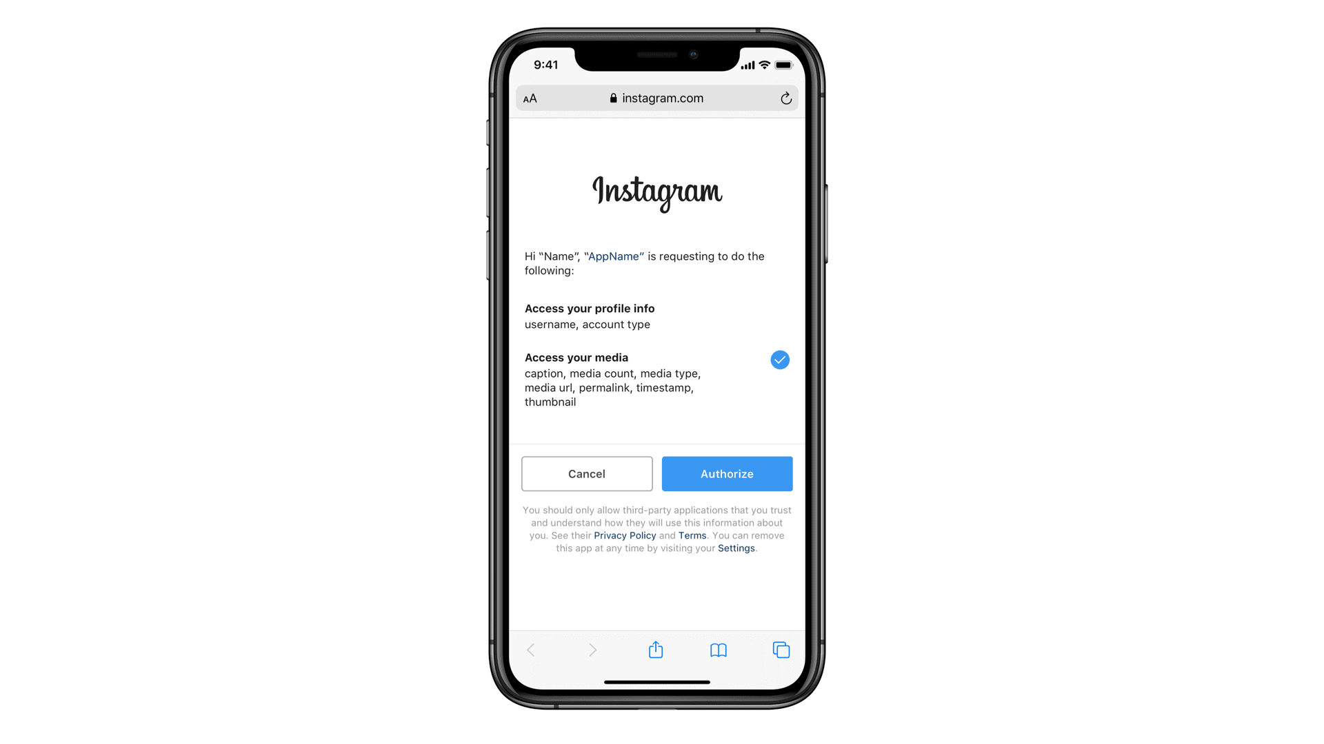 Instagram's new security feature gives you more control over third-party data access
