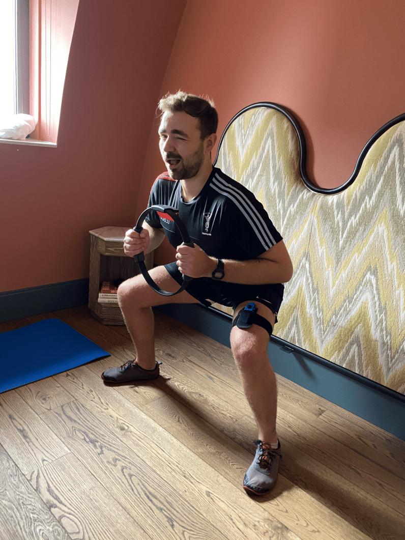 ring fit squat