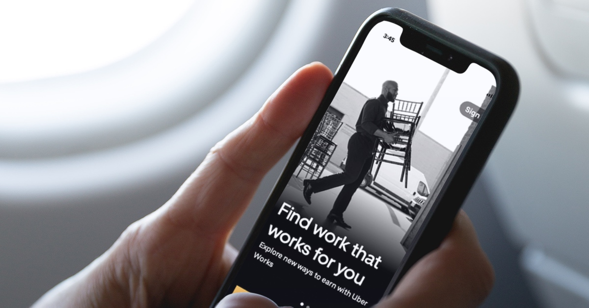 Uber Works is Tinder for blue-collar workers in the US