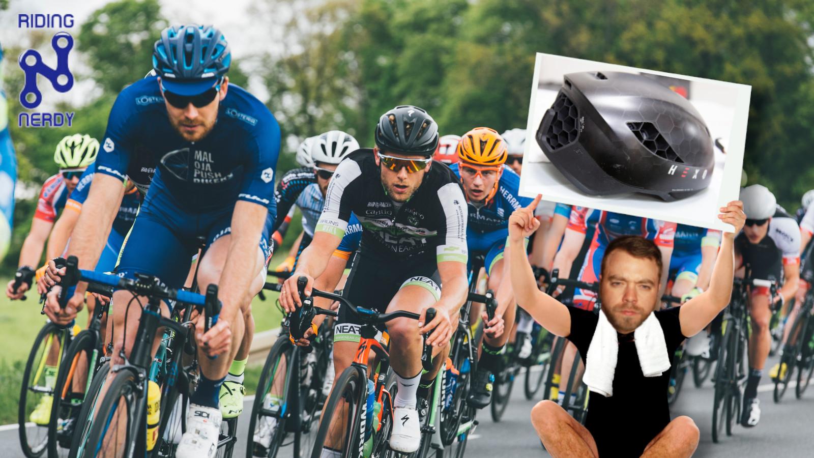 This custom 3D-printed bicycle helmet is the future of saving skulls