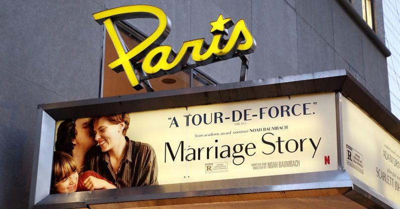 Netflix officially saves New York City's Paris Theatre from closure