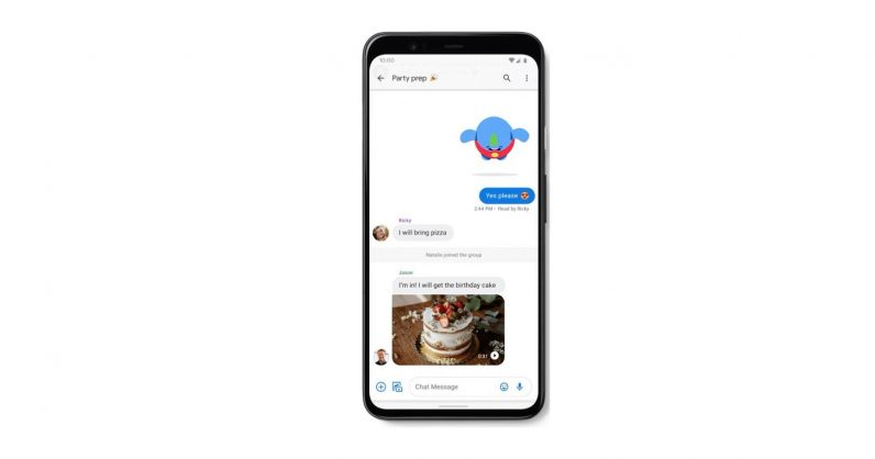 Google just enabled Android RCS SMS+ chat in the USA
