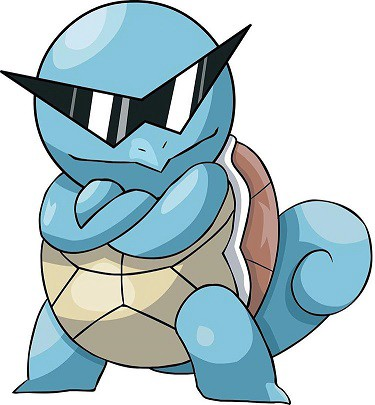 cool squirtle
