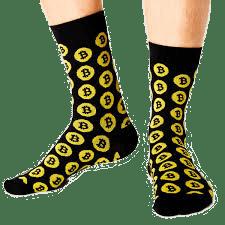 bitcoin, socks, crypto, nerd