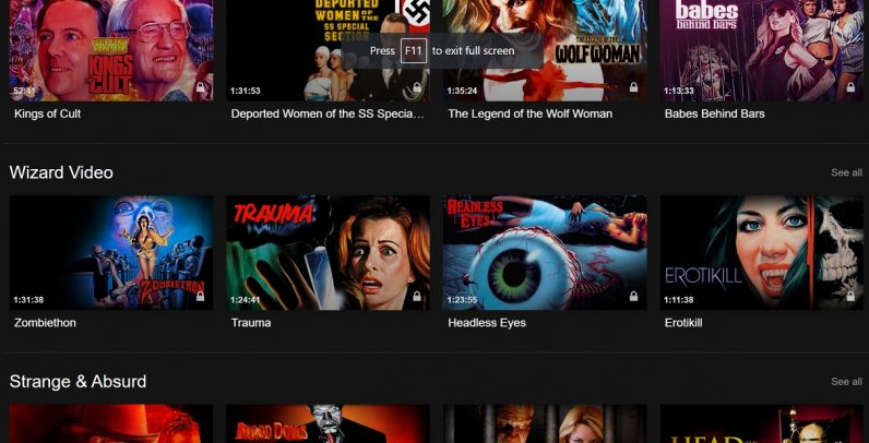Three weird streaming services you should check out once your Netflix trial is over