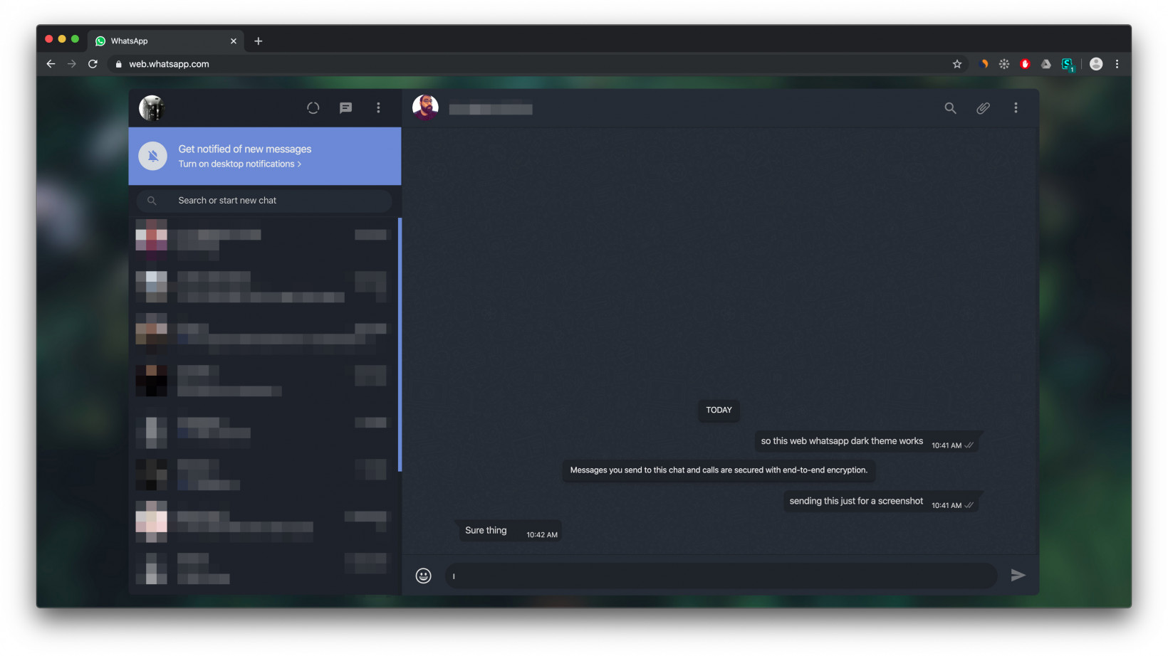 How To Enable Dark Mode On Whatsapp Web