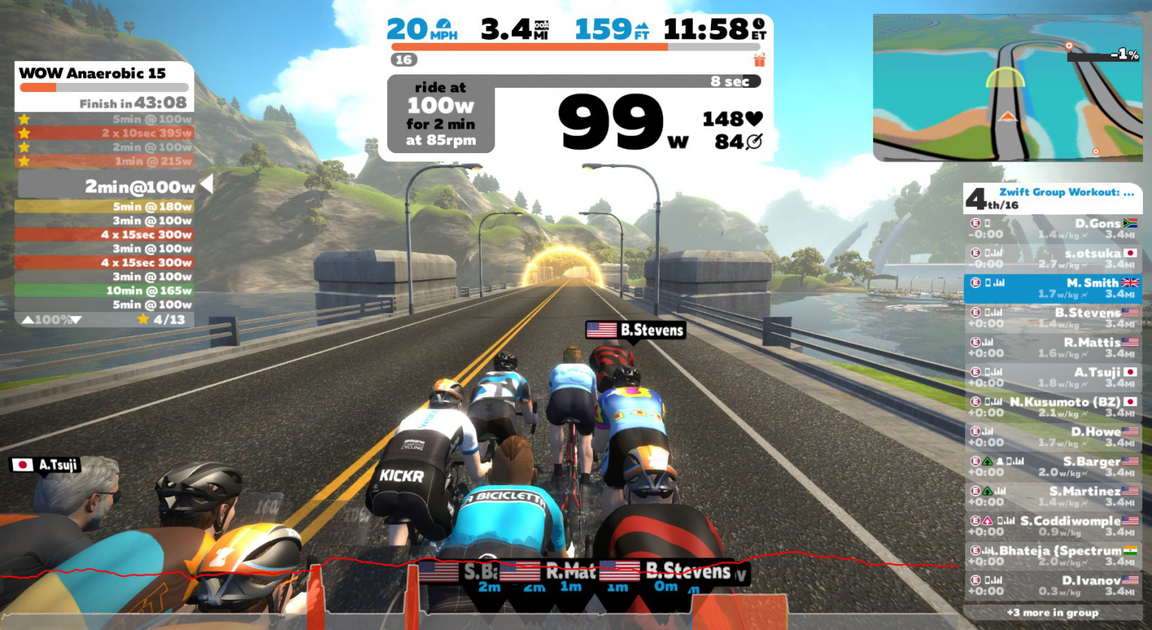 Zwift, gaming, perspective, interface