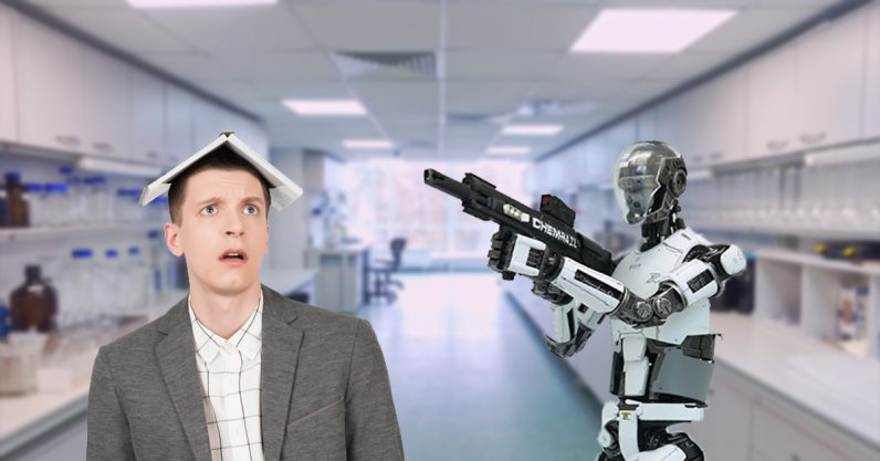 Why researchers should make sure robots don't become weapons