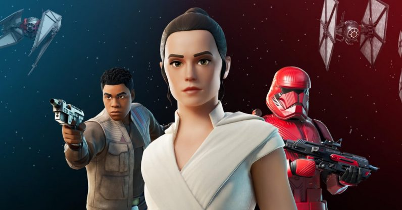 Fortnite is apparently part of the Star Wars canon now