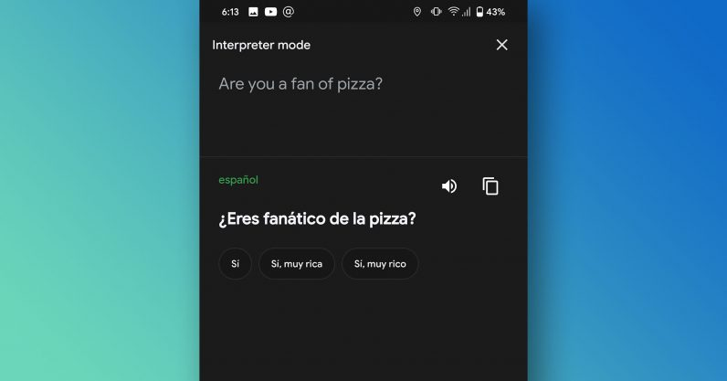 Google Assistant's 'Interpreter mode' translates conversations in real time