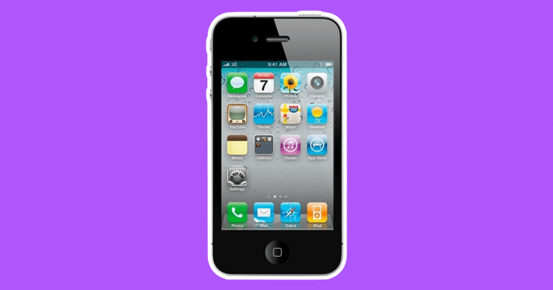 iphone 4 phone of the 2010s