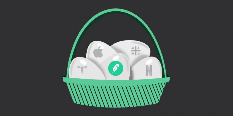 robinhood, trading, basket