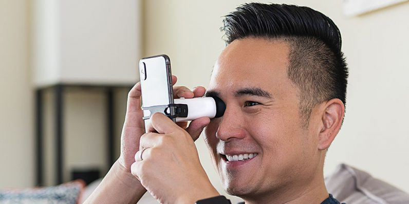 EyeQue VisionCheck® helps you keep tabs on your eye health at home.