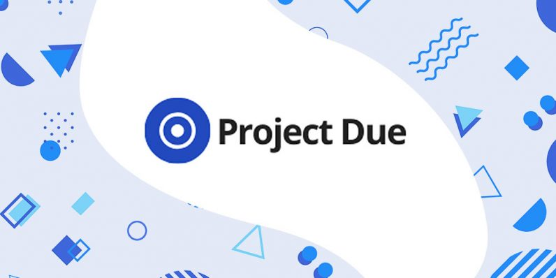 ProjectDue helps keep your business affairs straight — and right now, it's over 90% off
