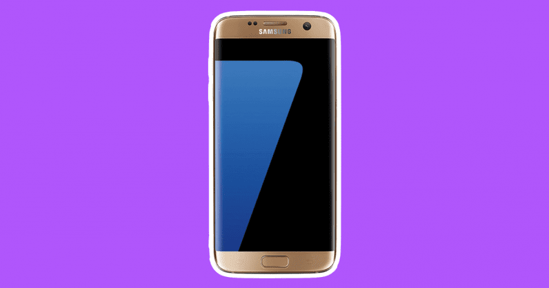 samsung galaxy s7 in gold phones of the 2010s