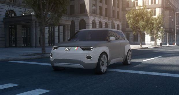 Fiat, modular, batteries, centoventi