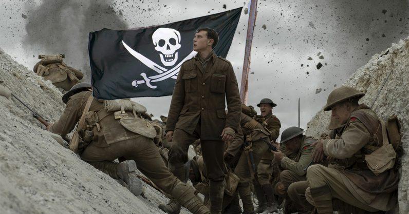 1917, movie, piracy, leak