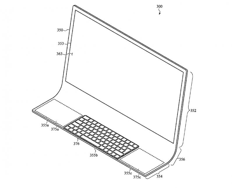 Apple single glass sheet iMac blueprint
