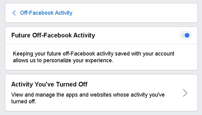 Facebook's 'Clear History' Is Now Available To Everyone