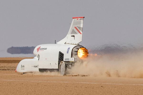 bloodhound, land, speed, record, testing