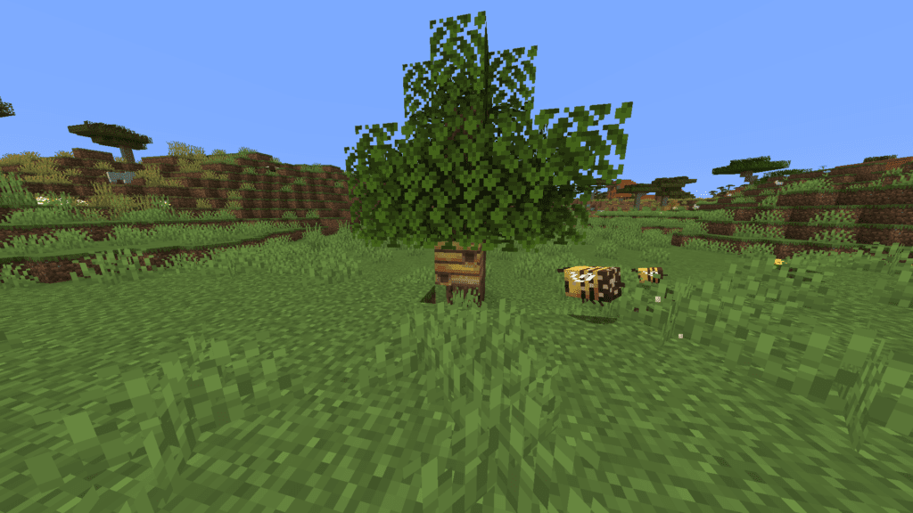 Bee Spawning in Minecraft