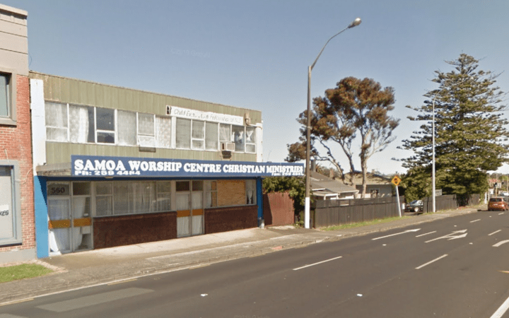 Samoa worship center
