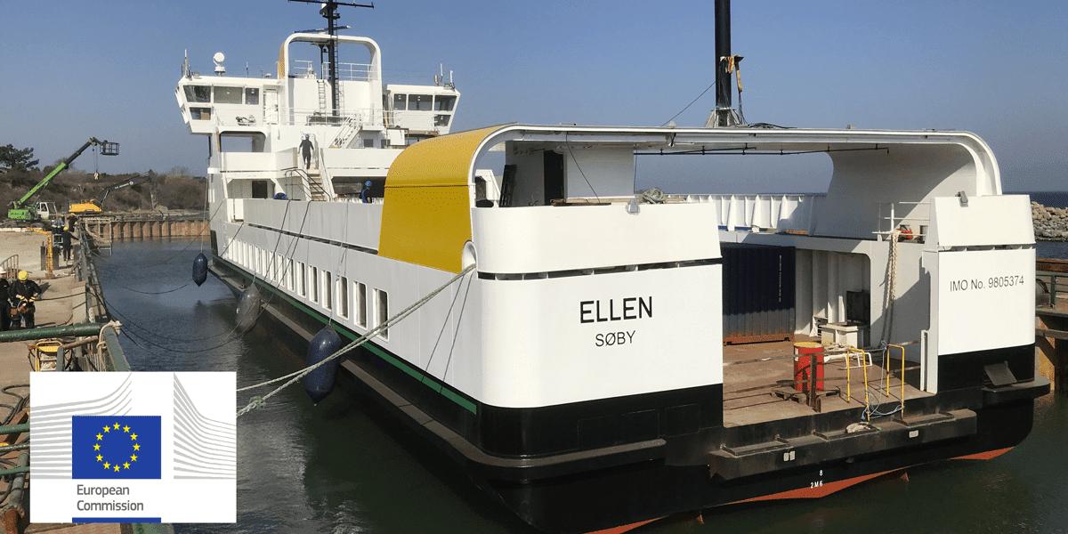 Ellen, ferry, boat, passenger