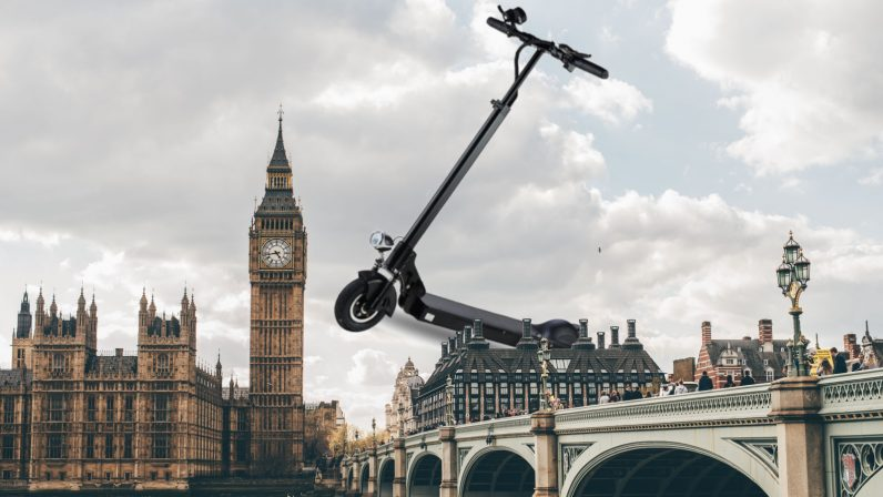 UK to begin shared e-scooter trials next week, way ahead of schedule