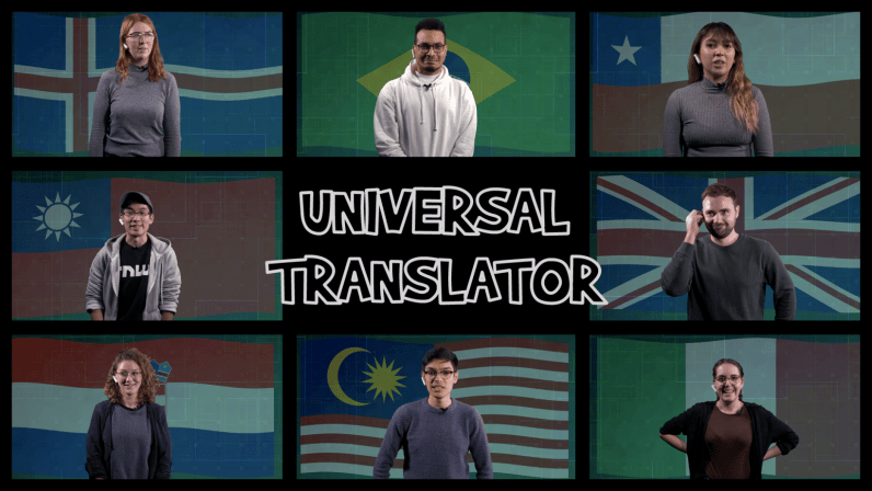 Video: We used a universal translator to play an inter-language game of 'Telephone'