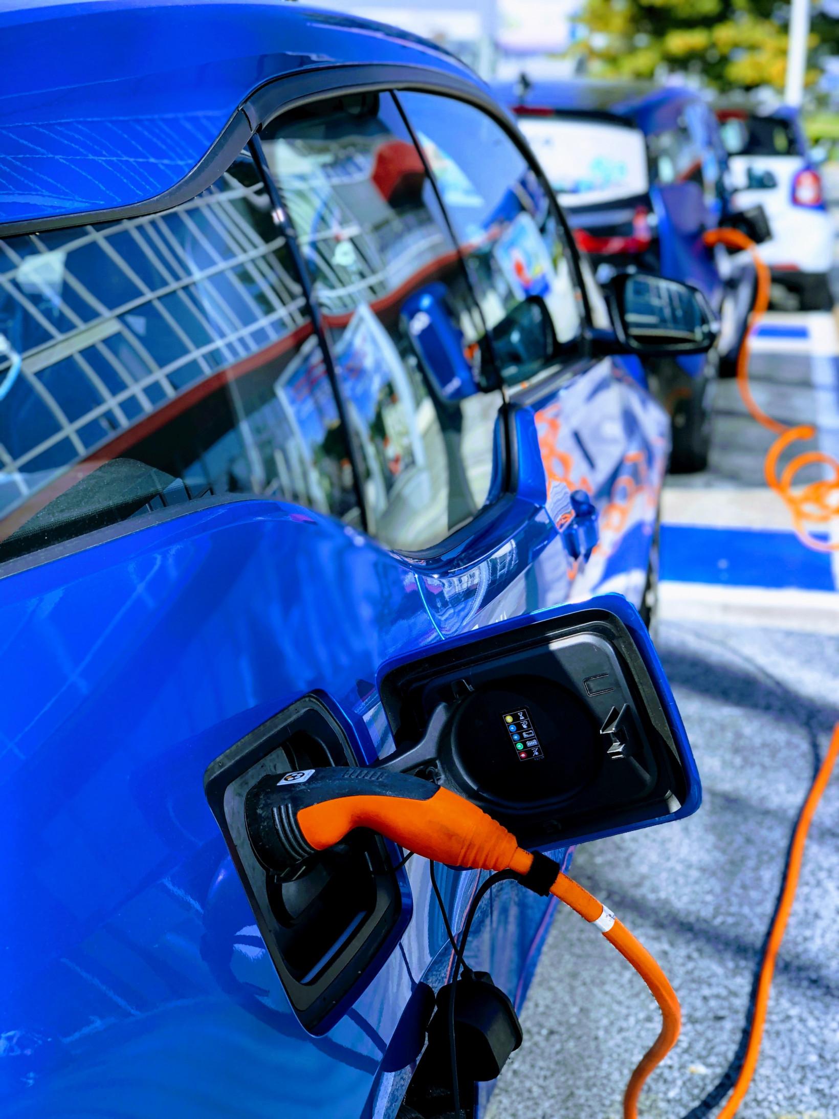 EV chargning
