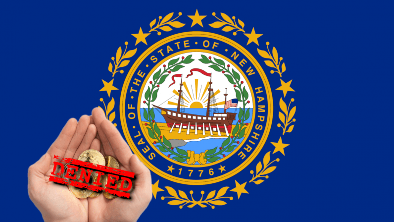 New Hampshire bill to allow taxes to be paid in Bitcoin falls short