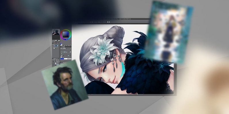Clip Studio DEBUT is a must for digital artists. Get it, plus loads of assets, for $25