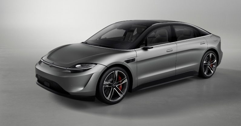 Electronics Major Sony Showcases Electric Car Concept At CES 2020
