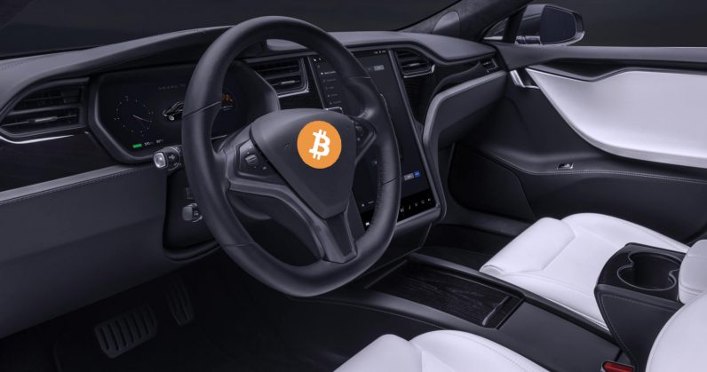 Bitcoin fans just turned their Tesla car into a full node