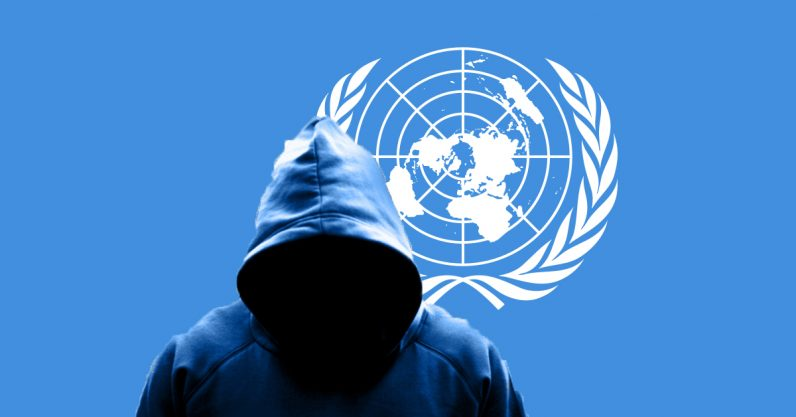 united nations, hack