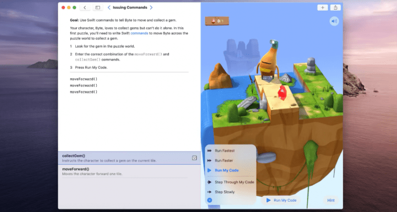 Apple launches a new Mac app to help you learn programming basics