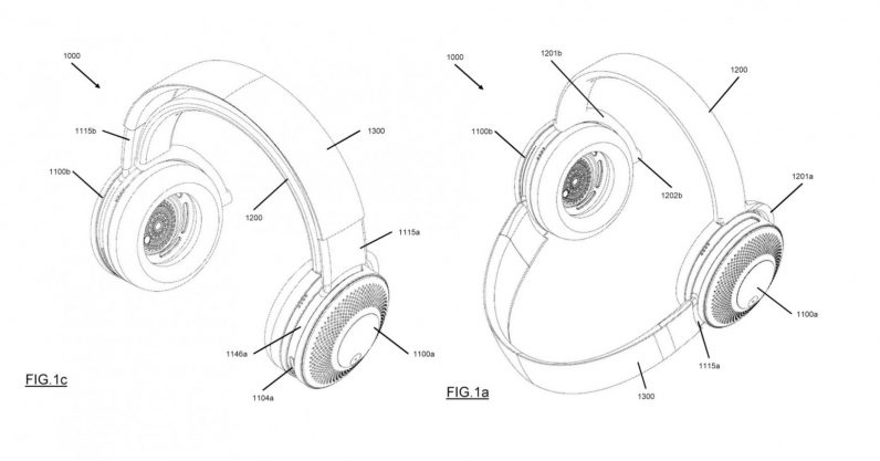Dyson patents headphones that double as an air purifier for your face