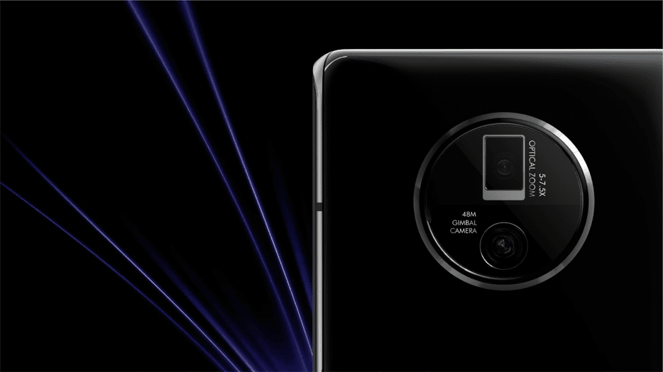 The Vivo Apex 2020 has a 'Gimbal-Stablizing' 48-megapixel camera to help reduce jitters in video