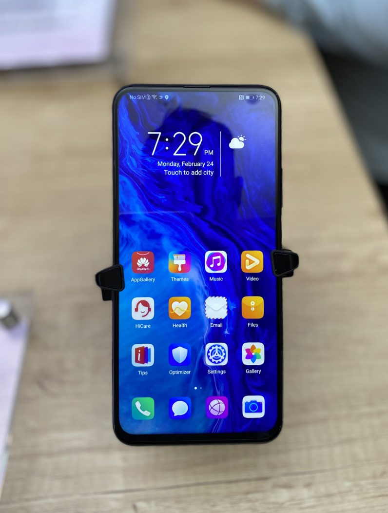 Honor 9X Pro front