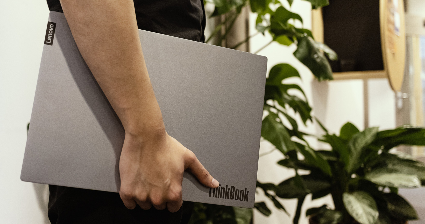 Lenovo's ThinkBook 14 comes in a simple Mineral Grey colorway