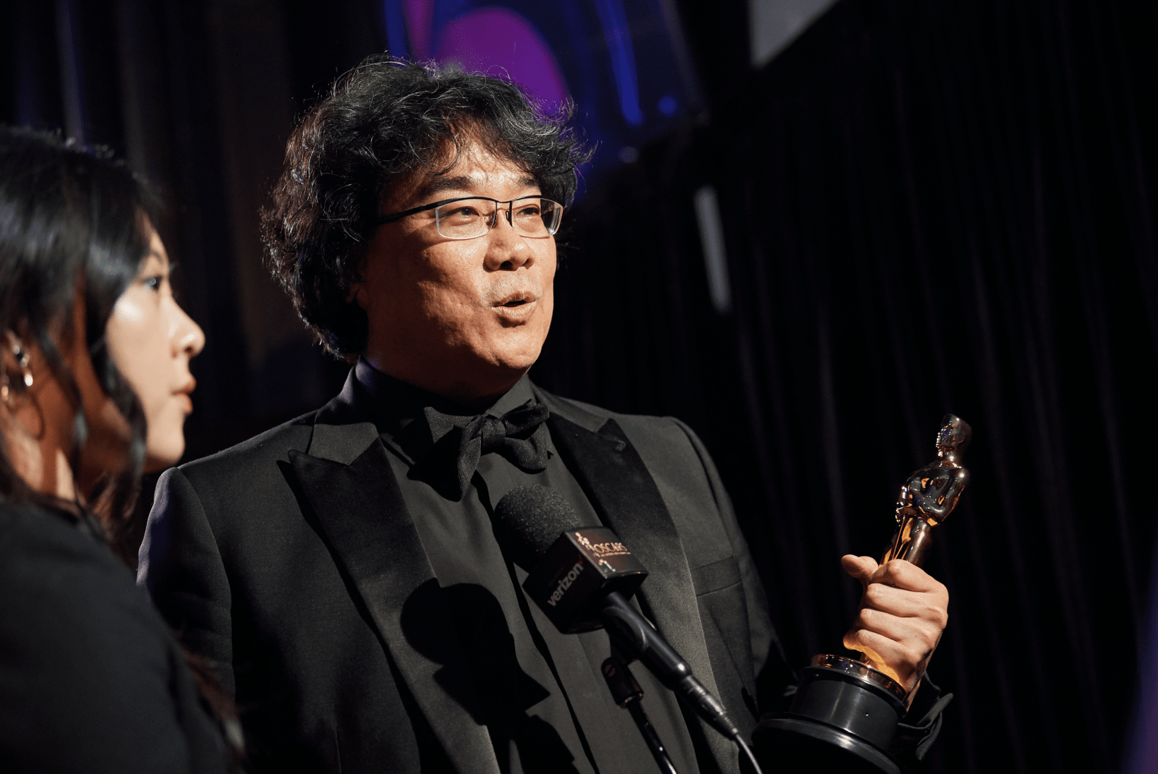 The ML model failed to predict Bong Joon-ho's best director and best film awards for Parasite